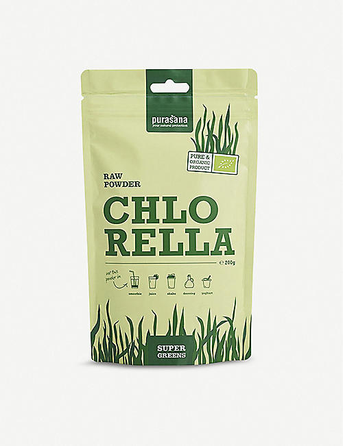 PURASANA Raw chlorella powder 200g
