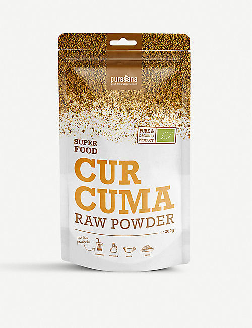 PURASANA Curcuma raw powder 200g