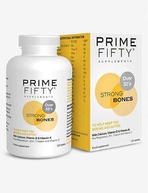 PRIME FIFTY Strong Bones supplement 120 tablets