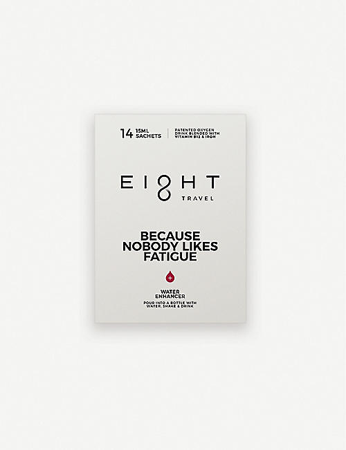 EIGHT Because Nobody Likes Fatigue water enhancer 14 sachets