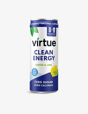 VIRTUE Lemon and Lime energy water pack of 12