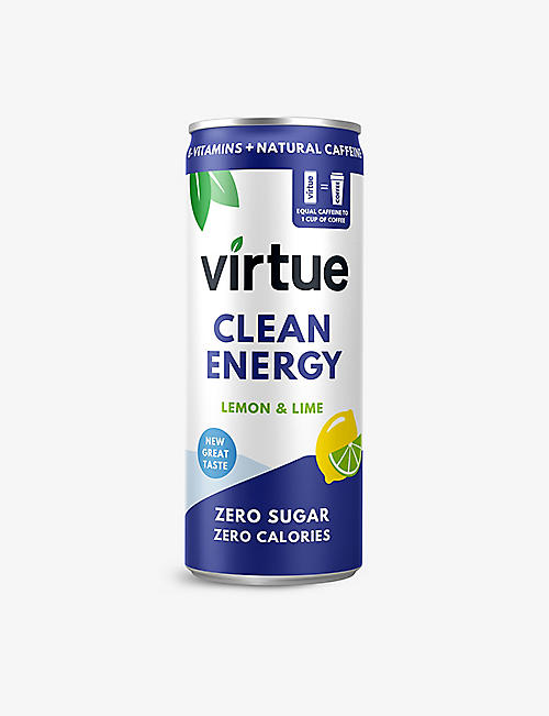 VIRTUE: Lemon and Lime energy water pack of 12