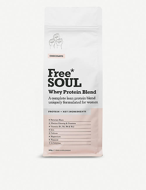 FREE SOUL: Whey Protein Shake - Chocolate 600g