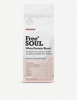 FREE SOUL: Whey Protein Shake - Ginger Biscuit 600g