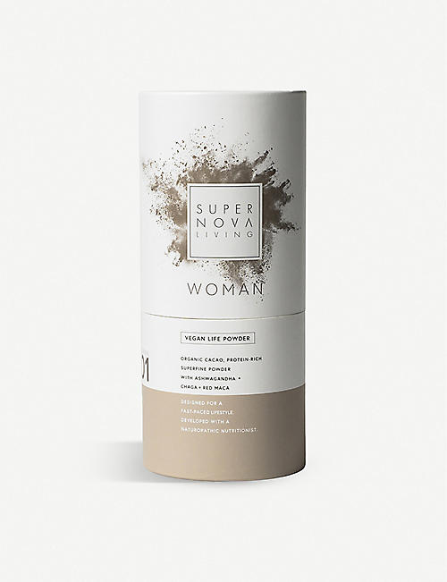 SUPERNOVA LIVING: Woman advanced vegan protein powder 480g