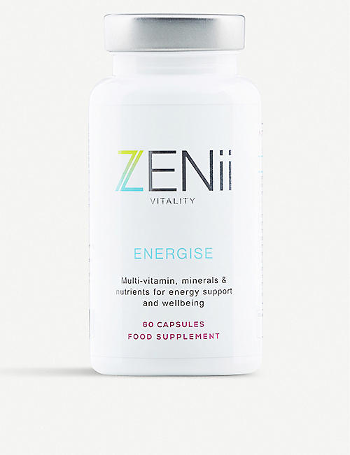 ZENII Energise supplements 60 capsules