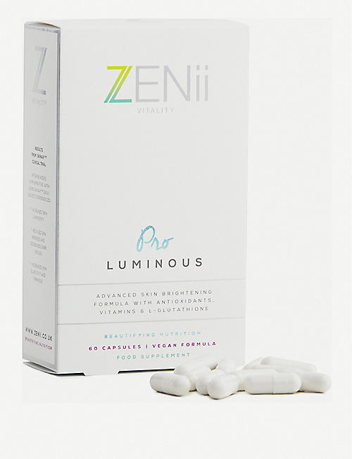 ZENII: Pro Luminous capsules box of 60