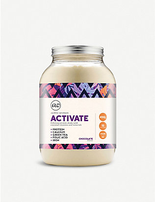 BIO SYNERGY: Active woman® activate chocolate protein shake 450g