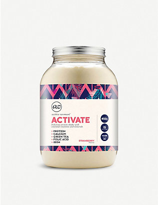 BIO SYNERGY: Active woman® activate strawberry protein shake 450g