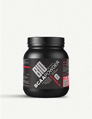 BIO SYNERGY: Caffeine-free pre-workout BCAA Powder 360g