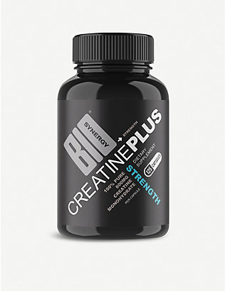 BIO SYNERGY: Creatine Plus Strength muscle performance booster 125 capsules