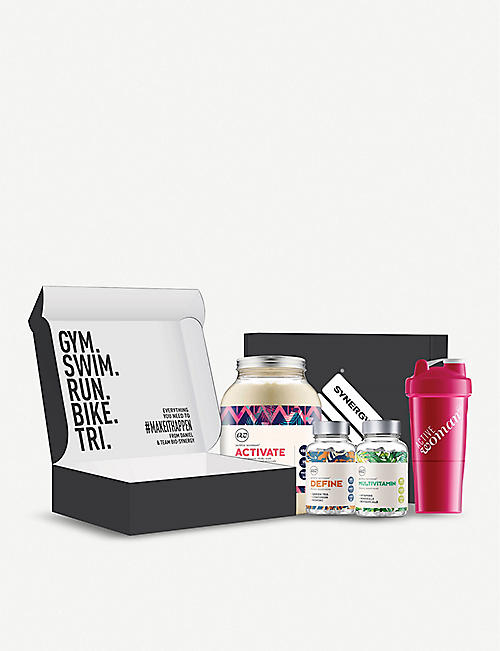 BIO SYNERGY Active woman® activate, define and refine vitamins, and shaker box ???