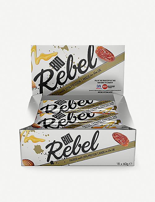 BIO SYNERGY Rebel bars 12 x 60g