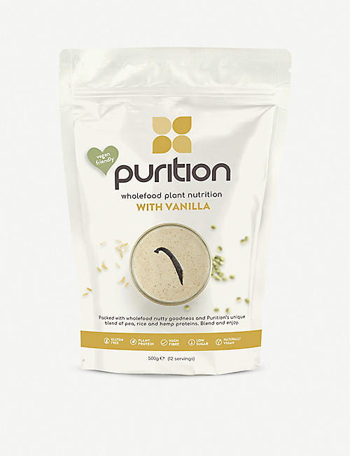 PURITION Dairy-free vanilla protein powder 40g