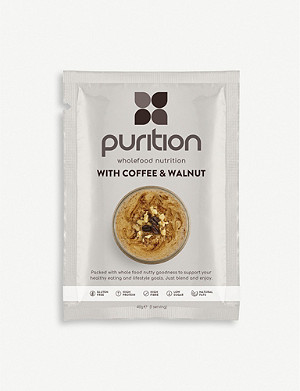 PURITION Coffee and Walnut protein powder 8 x 40g