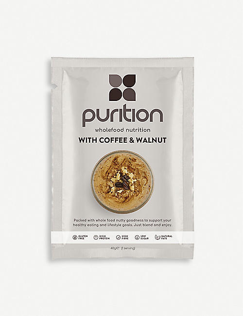 PURITION Coffee and Walnut protein powder 500g