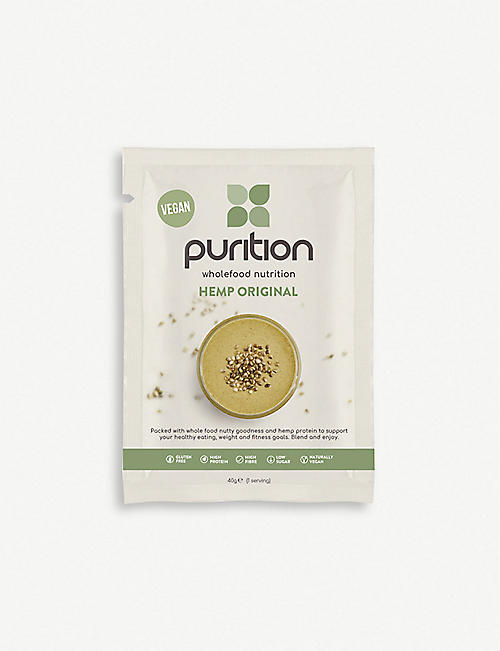 PURITION Hemp protein powder 8 x 40g