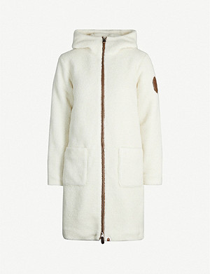 BAPE Hooded teddy coat