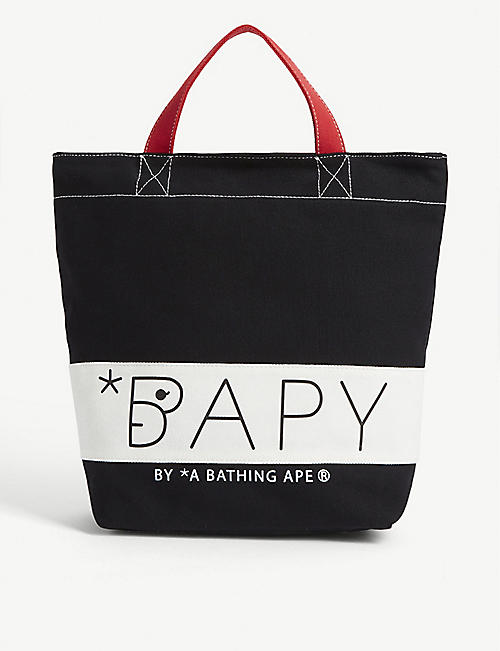 BAPY Canvas tote bag