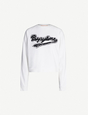 BAPY Beaded jersey sweatshirt