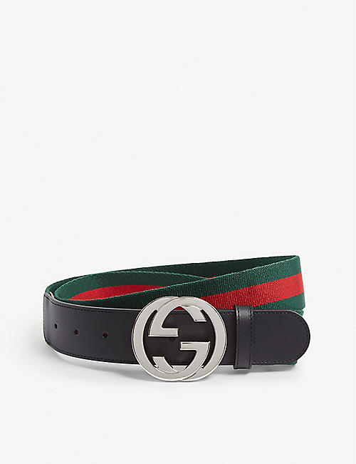 e232b4dedbc GUCCI Web Band Belt. GUCCI Web Band Belt. Quick Shop