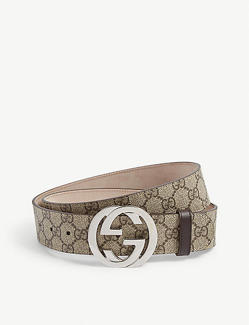 GUCCI Supreme G Buckle Belt