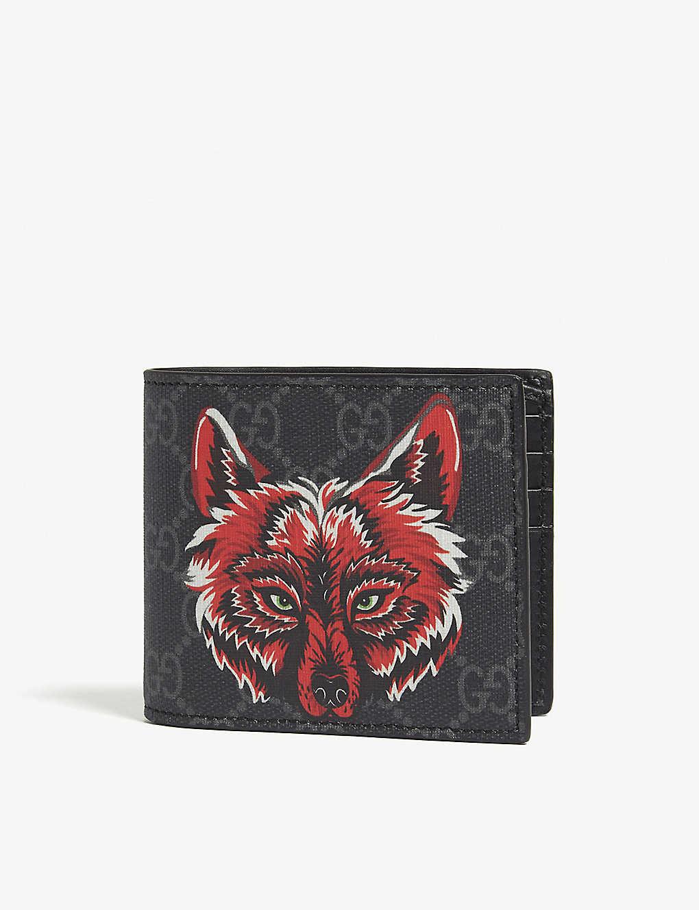 41914489acb GUCCI - Fox bi-fold wallet