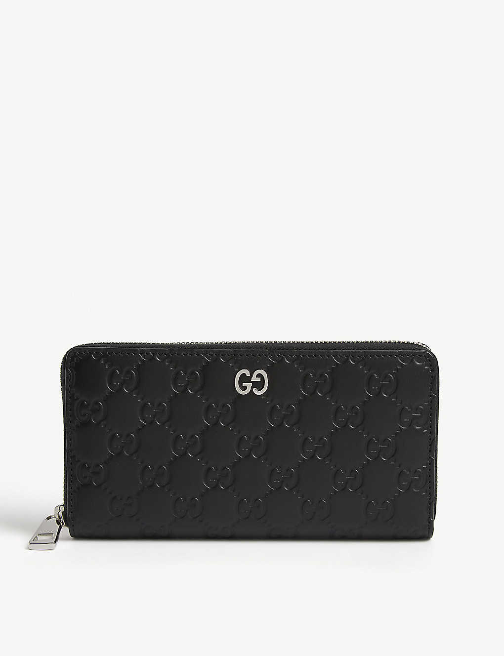 GUCCI: Dorian leather wallet