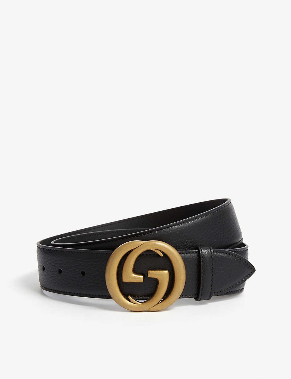 5b18f53fa GUCCI - GG belt | Selfridges.com