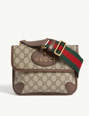 GUCCI Neo vintage canvas messenger bag