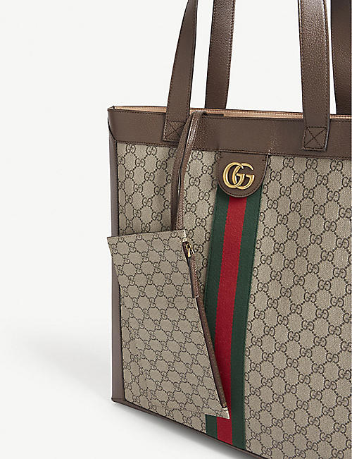 GUCCI Ophidia large supreme leather tote