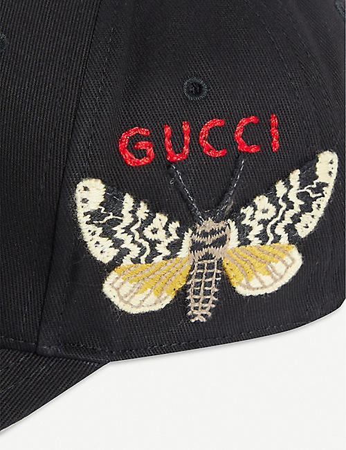 d535d019230e69 GUCCI New York Yankees™ patch canvas baseball cap. NEW SEASON. Quick Shop