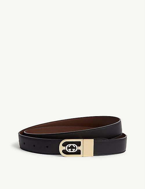 863a4766fb5 GUCCI Reverisble leather belt · GUCCI Reverisble leather belt · Quick Shop