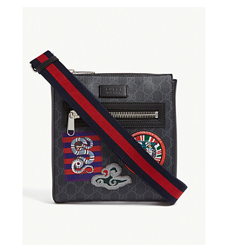 0944eb09c610 GUCCI - Courrier GG Supreme messenger bag | Selfridges.com