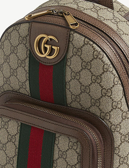 GUCCI GG Supreme Ophidia small backpack
