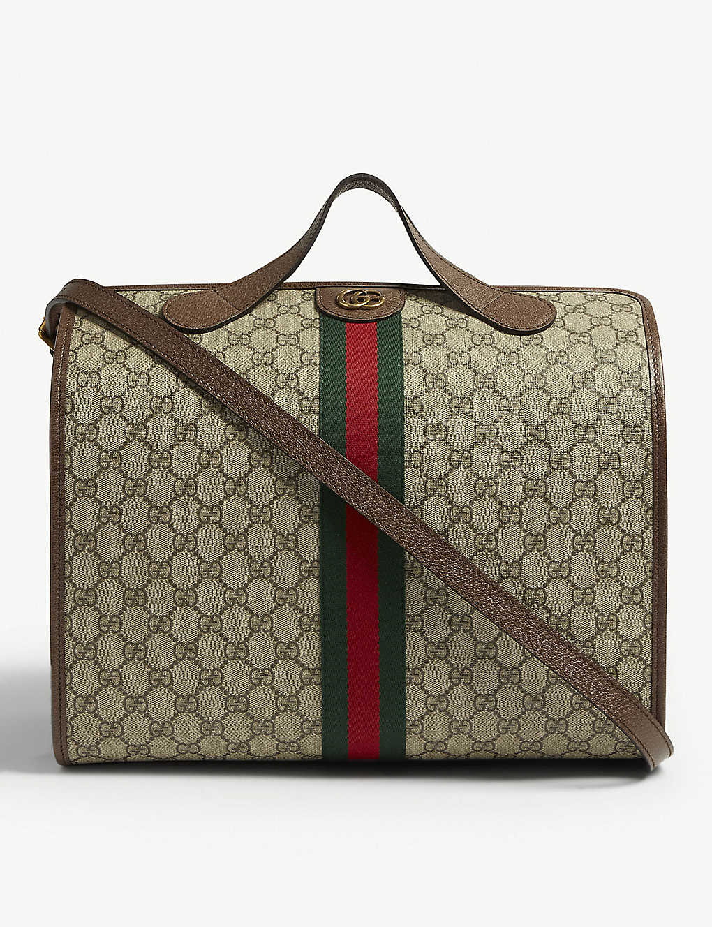15cf23690 GUCCI - Ophidia GG Supreme canvas logo duffle bag | Selfridges.com