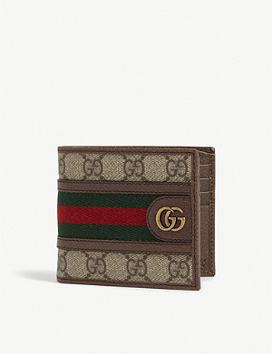 GUCCI Ophidia bifold coin wallet