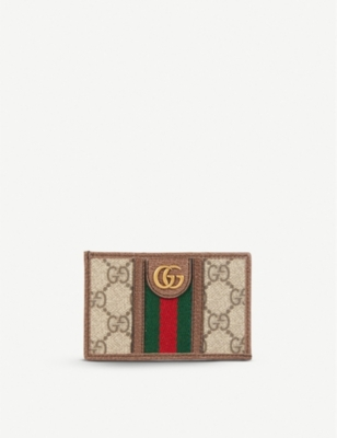 GUCCI Ophidia GG card holder