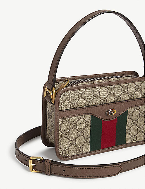GUCCI Ophilia small canvas shoulder bag