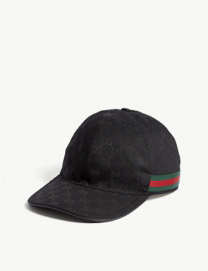 6e6924be656 GUCCI - GG Web stripe baseball cap