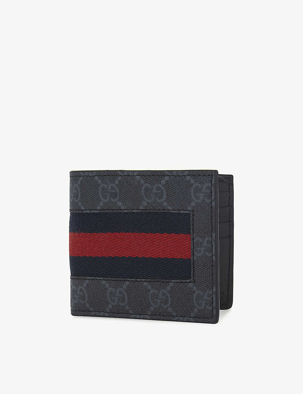 033102880384 GUCCI - Web GG supreme billfold wallet | Selfridges.com