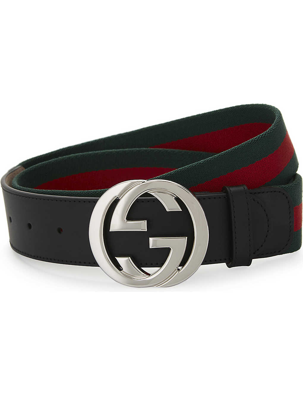 e77c9be3b GUCCI - Web stripe belt | Selfridges.com