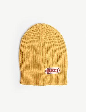 7d6a266d374 GUCCI Sega logo wool beanie