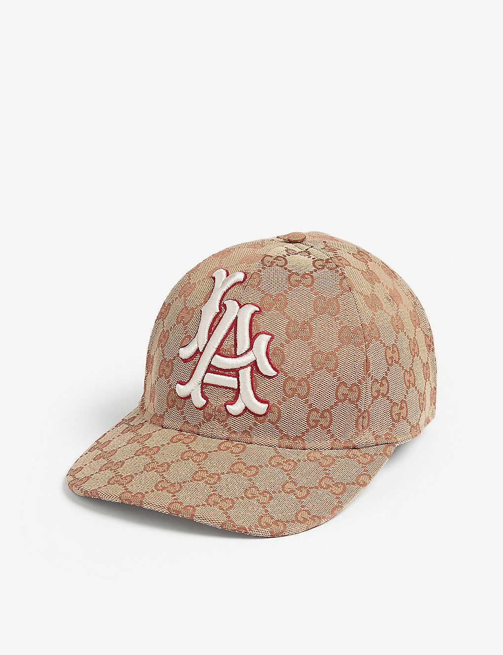 2213d038 GUCCI - LA Dodgers baseball cap | Selfridges.com