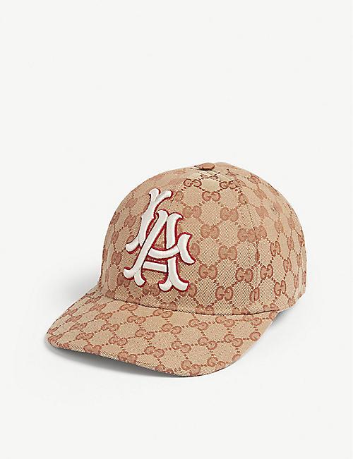 956337b2f68 GUCCI LA Dodgers baseball cap