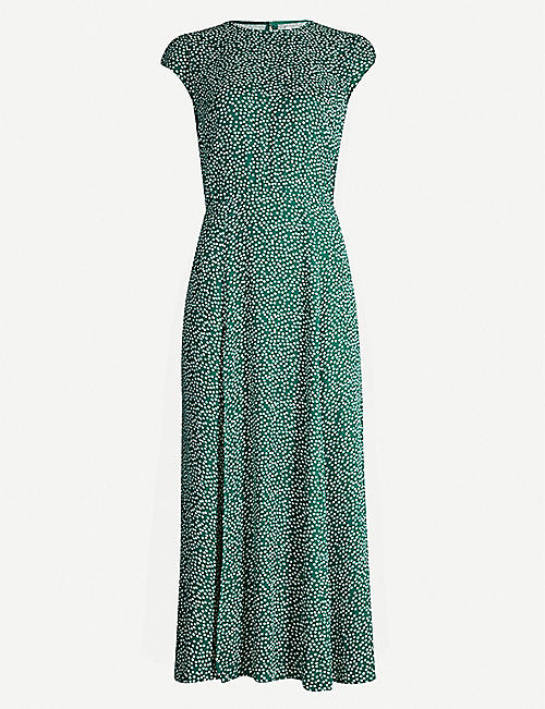 REFORMATION Gavin floral-print crepe midi dress