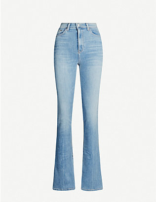 REFORMATION: Audrey straight high-rise jeans