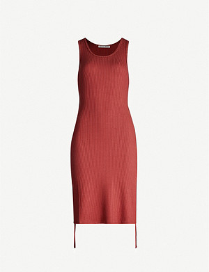 REFORMATION Aerin sleeveless jersey dress