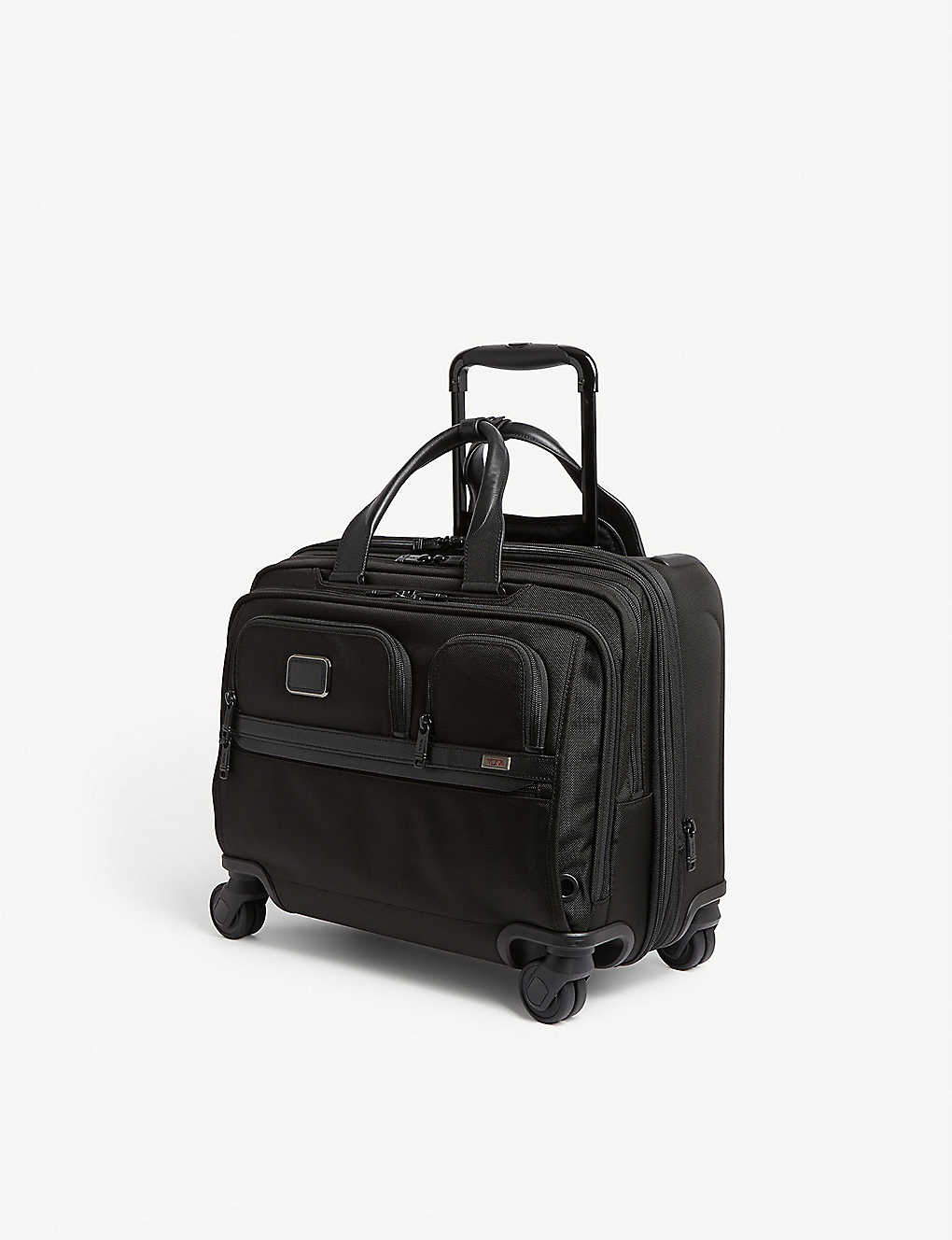 TUMI: Alpha 3 ballistic nylon laptop rolling briefcase