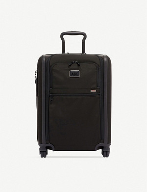 TUMI Alpha 3 nylon expandable four wheel suitcase